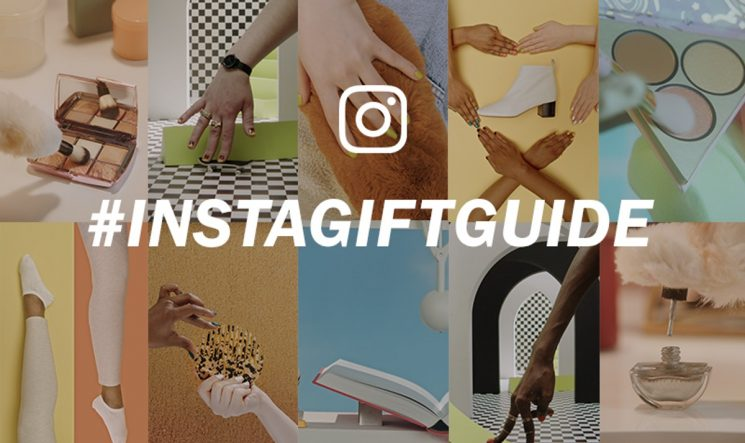 Instagram's #InstaGiftGuide Pairs Hashtags With Brands So You Can Find The Best Gifts
