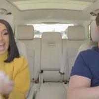 Cardi B and James Corden rap Bodak Yellow in new Carpool Karaoke
