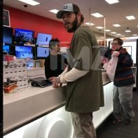 Post Malone Hits Up Target for Christmas Shopping on XMAS Eve