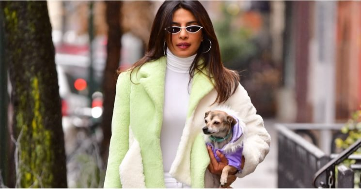 Priyanka Chopra's Twist on Winter White Is Everything We Need to Warm Us Up
