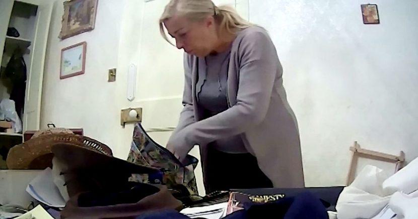 Carer caught stuffing dementia sufferer's cash into her bra on hidden camera