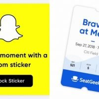 SeatGeek's New Snapchat Widget Will Make Sharing Your Concert Snaps So Much Easier