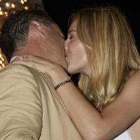 Karl Stefanovic's four-day Mexican wedding begins with a kiss