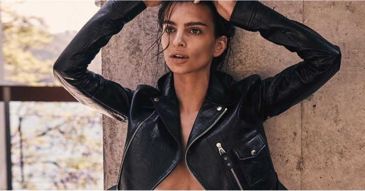 Emily Ratajkowski's Bikini Bottom Is Covered in Lucky Charms, So a Top Just Isn't Necessary