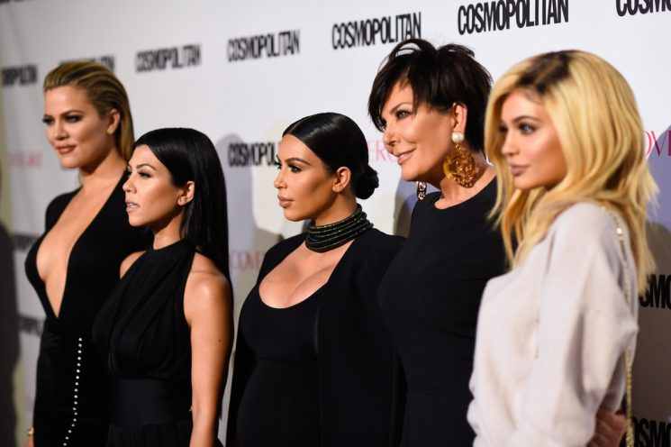 The Kardashians' Christmas Party Featured A Winter Wonderland & A Performance From John Legend