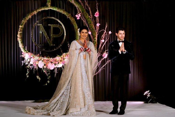 Nick Jonas & Priyanka Chopra's Body Language At Their Wedding Reception Was Unexpected