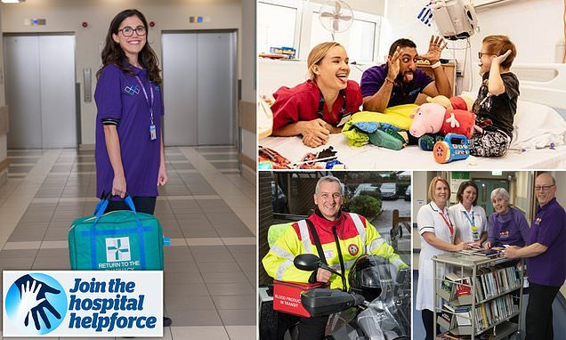Daily Mail calls for an army of volunteers to transform the NHS