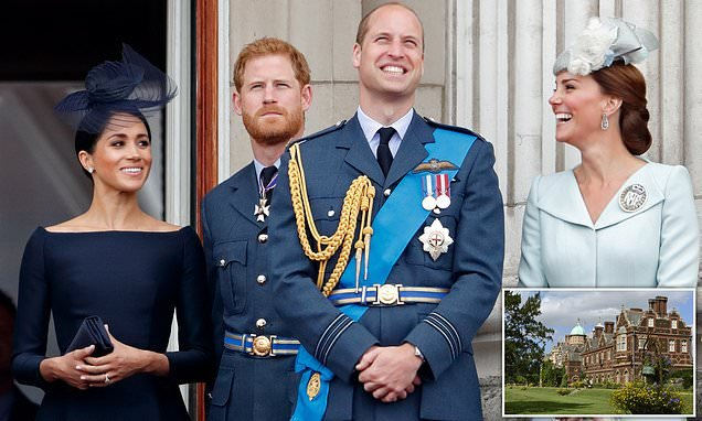 Harry and Meghan WILL spend Christmas with Wills and Kate