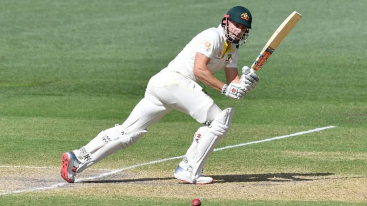Australia fighting to stay alive in first Test with Marsh at the helm