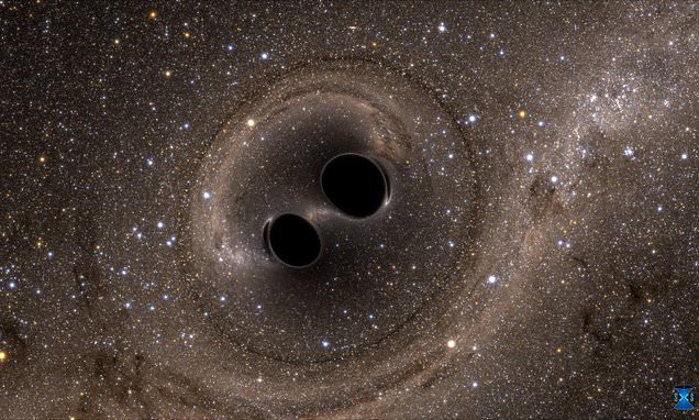 Biggest known black hole merger detected