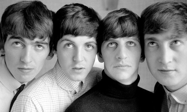 New book shows a young Fab Four in the studio in 1963