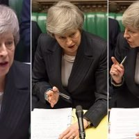 QUENTIN LETTS on Prime Minister's Questions: The Commons had sated air