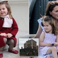 The Royal wee! Princess Charlotte nips into London pub to use toilet