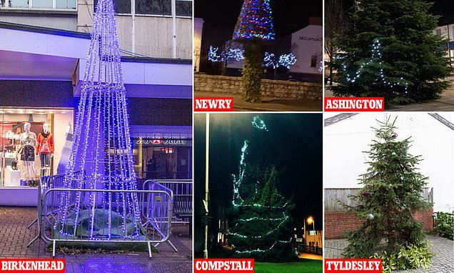 Are these Britain's worst Christmas trees?