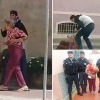 Brazilian police shoot dead robber who took elderly woman hostage