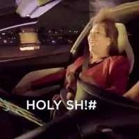 'Holy s**t': Tesla shows people's reaction to roadster acceleration