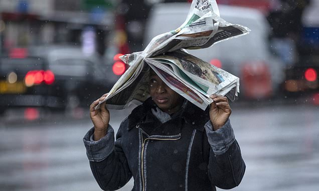 Britain is to be hit by 70mph gales and it's only going to get colder