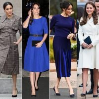 Meghan Markle accused of copying Kate Middleton's wardrobe