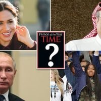 Meghan Markle against Trump, Putin & Khashoggi for TIME person of year