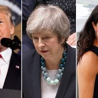 Donald Trump, Theresa May and Meghan Markle top Christmas jokes