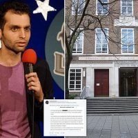 Comedian pulls out of university charity event