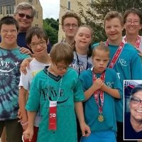Mother has spent $60k adopting FIVE children with Down's Syndrome