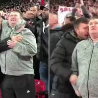 Sweet moment Liverpool fan describes Salah's goal to his blind cousin