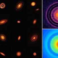 Stunning high-resolution images of disks swirling around young stars