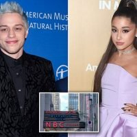 Ariana Grande shows up to Pete Davidson's office after disturbing note