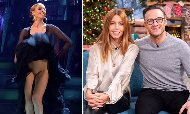 Stacey Dooley Laughs Off 'knicker Flashing' Incident