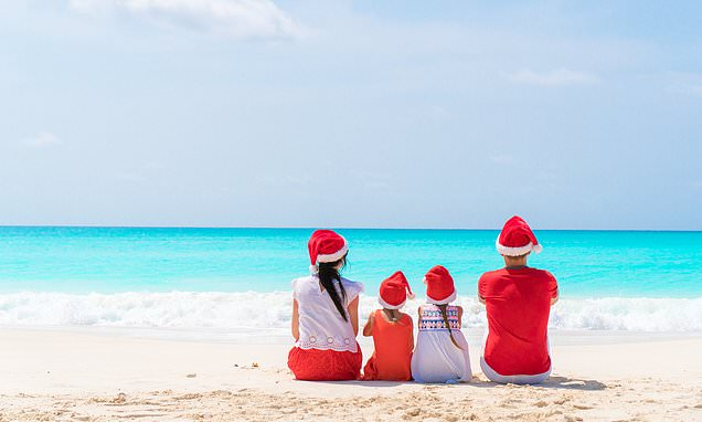 Nine million Brits will be spending Christmas on holiday