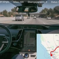 Ex-Uber engineer claims to have completed self-driving trip across US