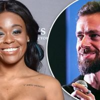 Twitter's Jack Dorsey gave Azealia Banks some of his beard hair