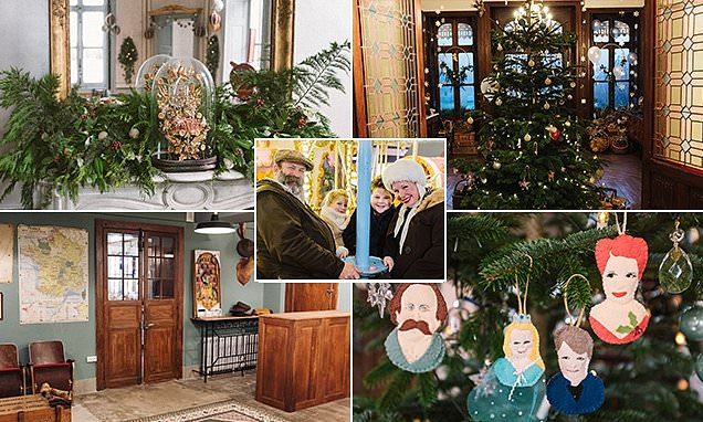 This Sunday's Escape to the Chateau is a special Christmas episode
