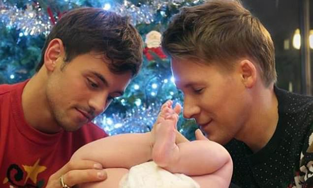 Tom Daley and husband share sweet photo of their baby son