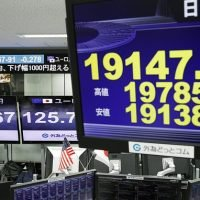 Nikkei hits 20-month low after Wall St slides on US political worries