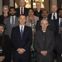 Foreign Secretary Jeremy Hunt reviews persecution of Christians