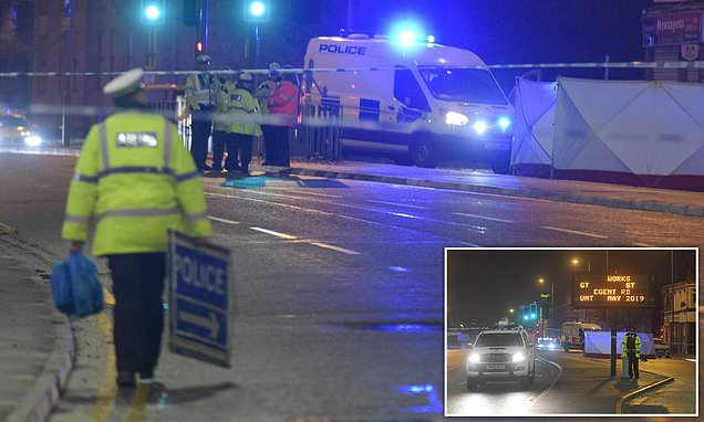 Man dies after being hit by a police car in Christmas Day accident