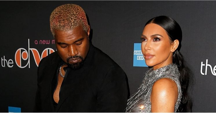 Kim Kardashian's Dress Dips So Low in the Back, It Nearly Exposed Her, Er, Famous Assets