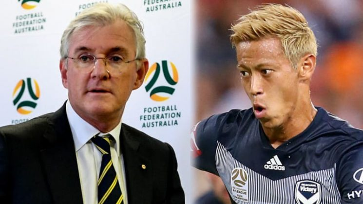 Football review 2018: Political chicanery can't take shine off Honda