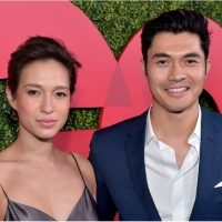 "Henry Golding Celebrates His ""Crazy"" Golden Globe Nod With Who Else but His ""Beautiful Wife"""