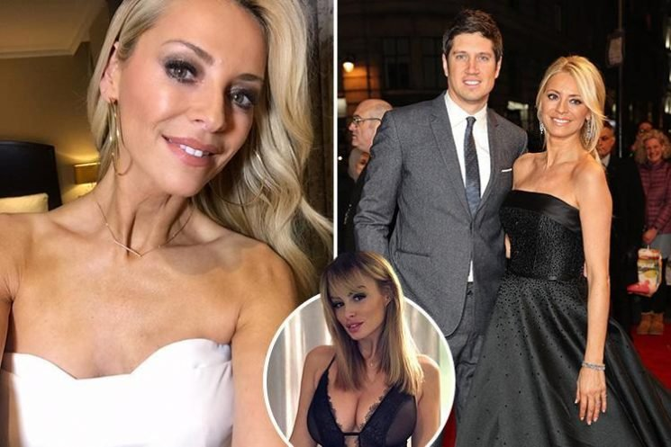 Tess Daly hints marriage to Vernon Kay survived Rhian Sugden text scandal because of 'good times' with their two daughters