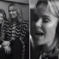 Amanda Holden shows off her incredible singing voice as she releases family version of The Greatest Showman
