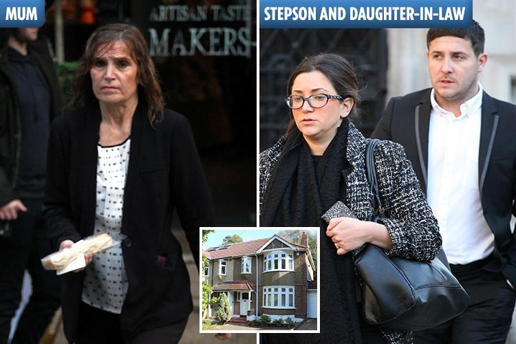 Wealthy widow locked in bitter legal battle with stepson who 'kicked her out of £450k home like a dog when dad died'