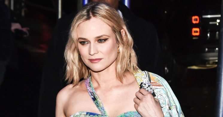 Wow! Diane Kruger Stuns in a Minidress Weeks After Giving Birth