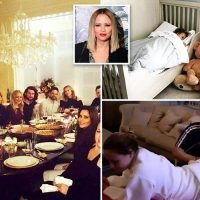 Inside Kimberley Walsh's incredible Surrey home with huge dining room, playhouse for kids in the garden and photos of Girls Aloud