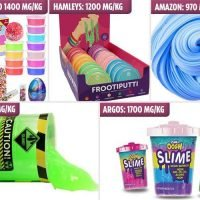 Warning over putty and 'unsafe' slime toys sold in Argos, Hamleys and Smyths that contain dangerous chemicals that cause diarrhoea