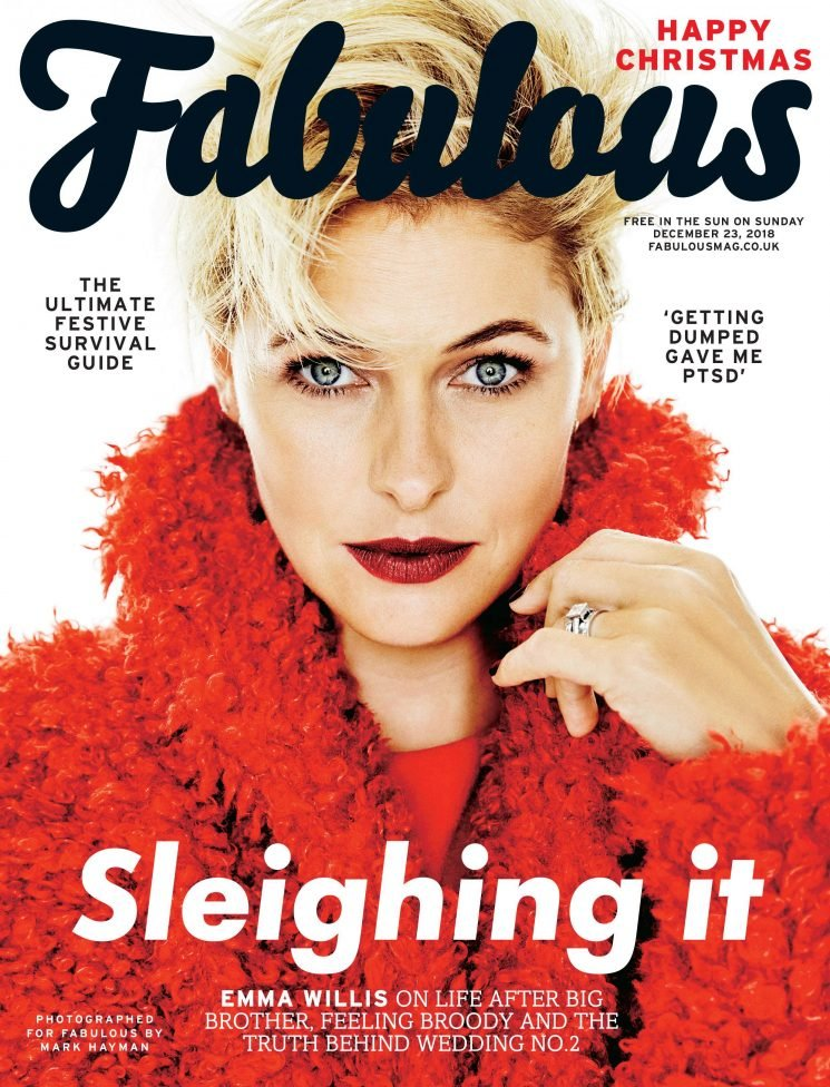 Talking life after Big Brother, the return of The Voice and the real reason she renewed her wedding vows to Matt, Emma Willis is this week's Fabulous cover star