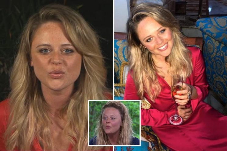 Emily Atack looks stunning after a makeover following three weeks without makeup