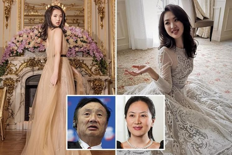 Glittering balls, palaces and links to Iran… Inside the crazy lives of the super-rich Huawei dynasty as daughter is arrested for fraud